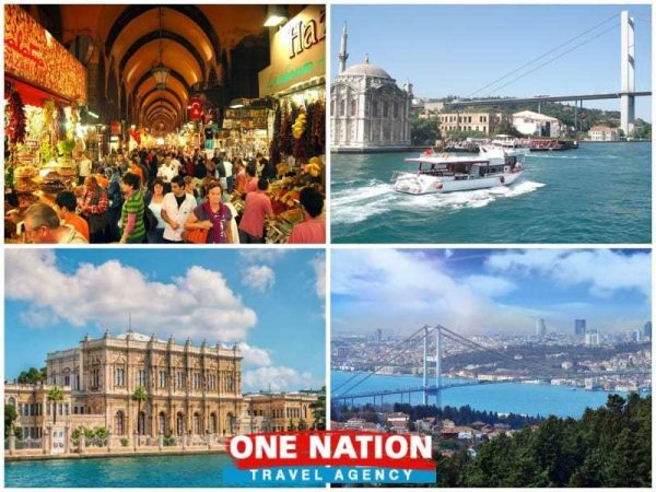 Dolmabahce Palace and Two Continents Tour