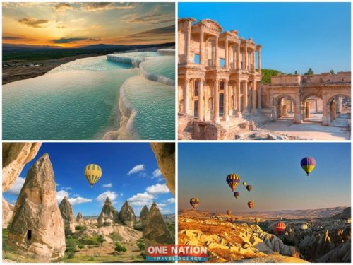 4-Day Private Pamukkale, Ephesus and Cappadocia Tour from Istanbul