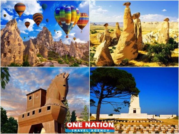 3 Days Cappadocia Troy and Gallipoli Tour from Istanbul