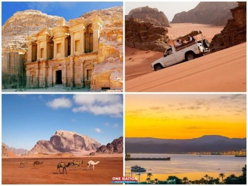 4-Day Petra Wadi Rum and Aqaba Tour from Amman