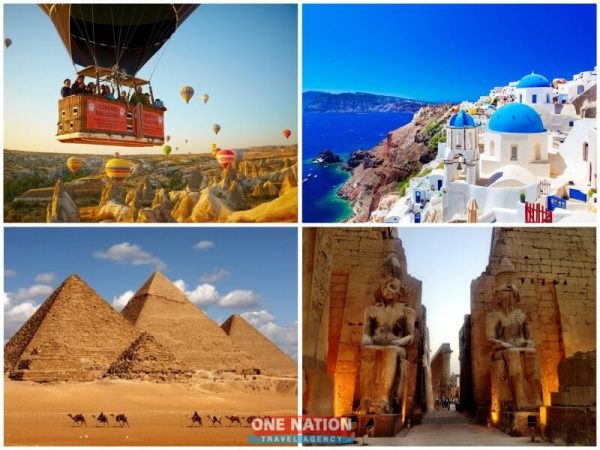 20 Days Turkey, Greece and Egypt Combination Tour