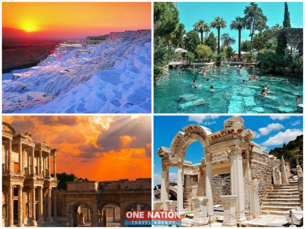 3-Day Private Tour of Pamukkale and Ephesus from Istanbul